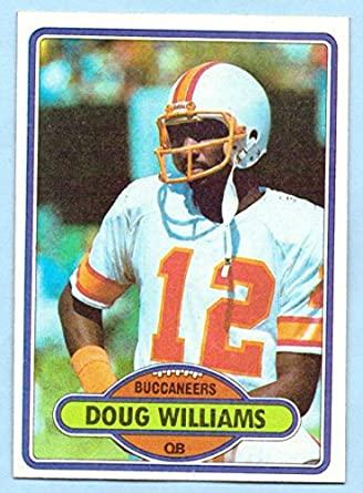 low priced 97620 bca00 Doug Williams 1980 Topps #312 - Tampa Bay Buccaneers at ...