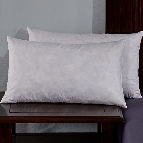 puredown-12x20-95-feather-5-down-oblong-pillow-insert-pack-of-2