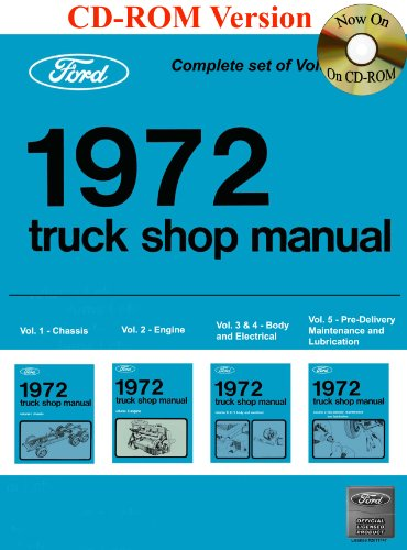 1972 Ford Truck Shop Manual