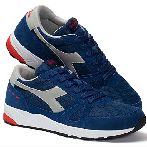 BLU Diadora Sneaker Low Run Neck Unisex C2935 Adults' 90 8a8r7