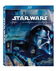 Star Wars: The Original Trilogy on Blu-ray will feature Star Wars Episodes IV-VI utilizing the highest possible picture and audio presentation.  Star Wars Episode IV: A New Hope Nineteen years after the formation of the Empire, Luke Skywalker...