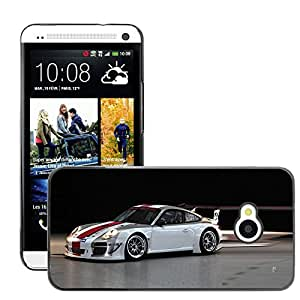 CarCase Slim Case Cover Backcover Frame Shell HTC ONE ( M7 ) // 2010 porsche 911 gt3 r //