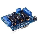 kuman L293D Motor Drive Shield Expansion Board For Arduino Duemilanove Mega UNO R3 AVR ATMEL KY58