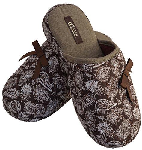 Pantofole Samantha Da Donna Ezstep Marrone