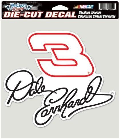 Dale Earnhardt DIE CUT Full Color DECALS 8x8