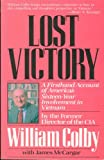Lost Victory, William Colby and James McCargar, 0809240769