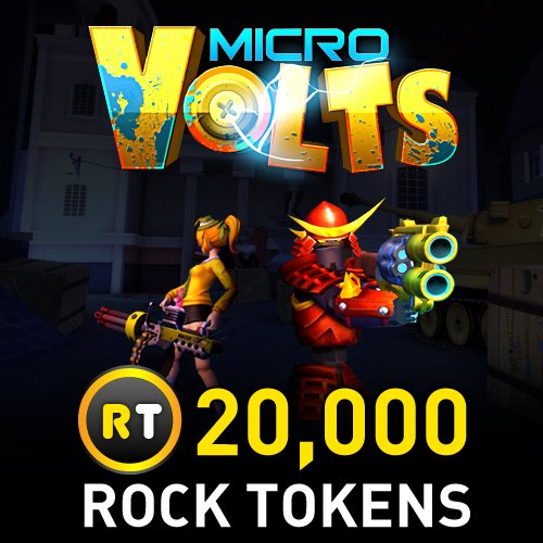 20,000 Rock Tokens: MicroVolts [Instant -