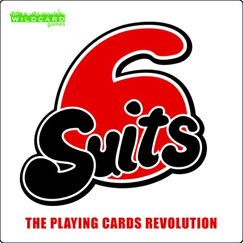 6 Suits - The Playing Cards Revolution - with 6 Suits of 9 Cards You can Play All Your Favourite Playing Card Games and New Ones in a Fun New Way with This Poker Sized Card Deck. for Kids and Adults.