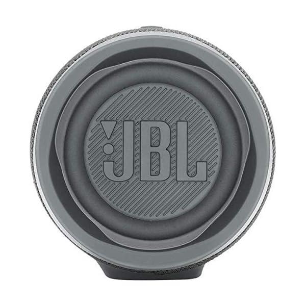 JBL Charge 4 - Enceinte Bluetooth portable avec USB - Robuste et étanche : pour piscine et plage - Son puissant - Autonomie 20 hrs - Gris 5