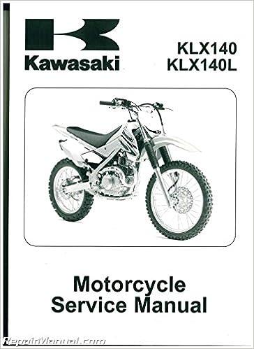 99924 1390 06 2008 2013 Kawasaki KLX140 KLX140L Motorcycle