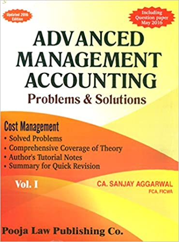 Sanjay Agarwal Costing Book