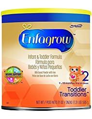 Enfagrow美赞臣金樽罐装二段奶粉21盎司Toddler Formula 折后 $14.98