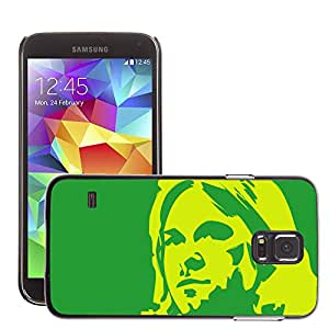 Super Stellar Slim PC Hard Case Cover Skin Armor Shell Protection // M00052116 portrait green aero vector art // Samsung Galaxy S5 i9600