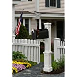Mayne 580B00000 Newport Plus Mail Post Only, White