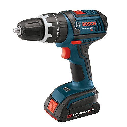 Bosch HDS180-03 18-Volt Lithium-Ion 1/2-Inch Compact Tough Hammer Drill/Driver with 2 Batteries, Charger and Case Review