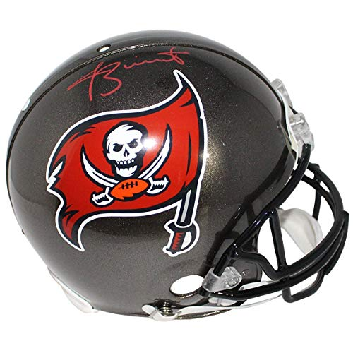 (Jameis WinstonSigned Tampa Bay Buccaneers Full Size Authentic Helmet - Steiner Sports Certified - Autographed NFL Helmets)