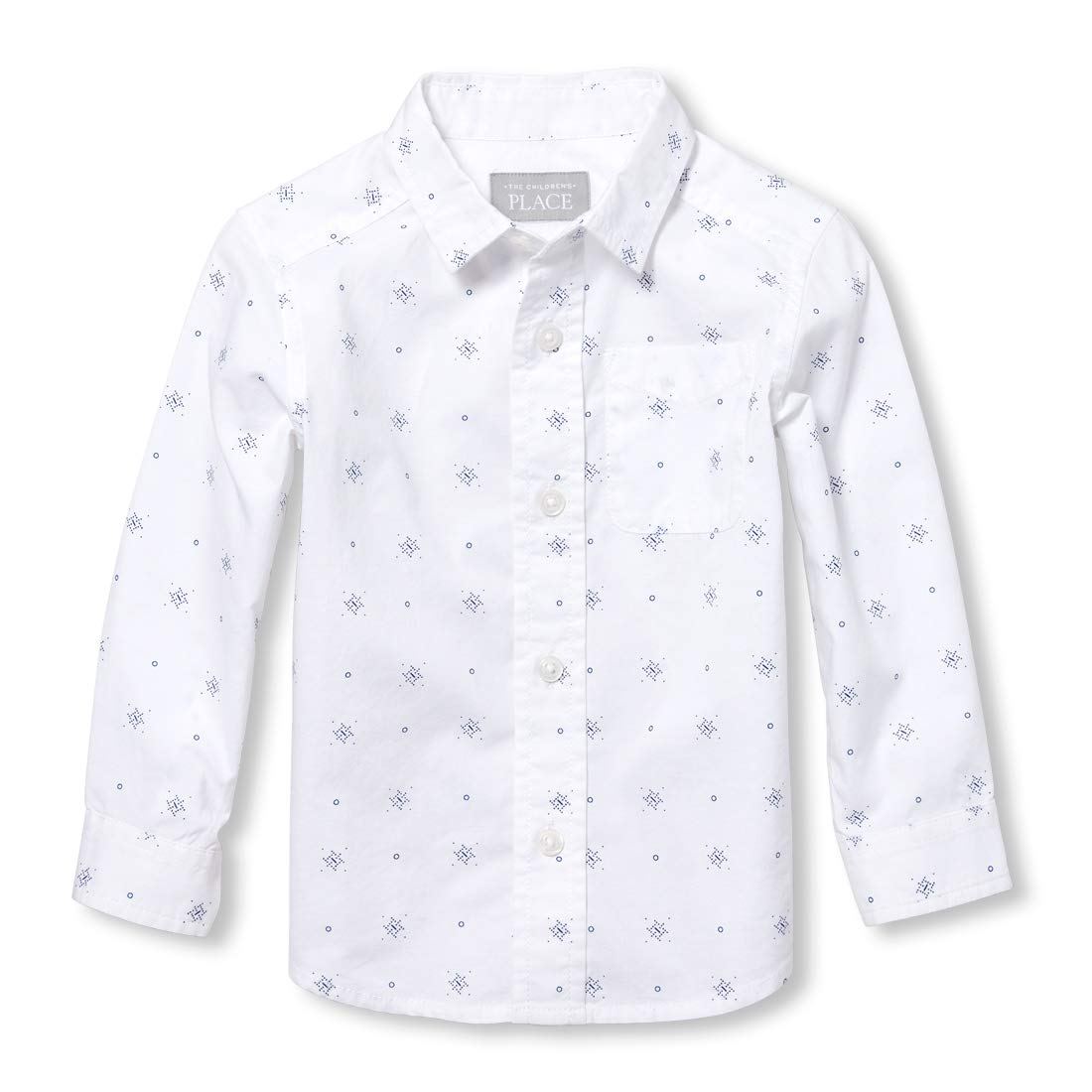 The Children's Place Boys' Long Sleeve Button Down The Children' s Place