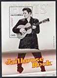 Elvis Presley Jailhouse Rock Collectible Postage Stamps 3189