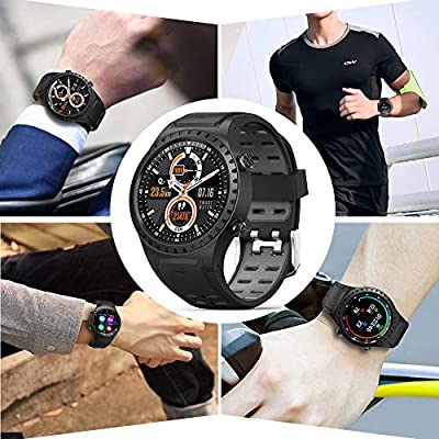 Naturehike GPS Smartwatch with Heart Rate and Activity Tracking Watches, Sleep Monitoring, Ultra-Long Battery Life, Bluetooth Call, Message Notification Easy to use for Women,Men