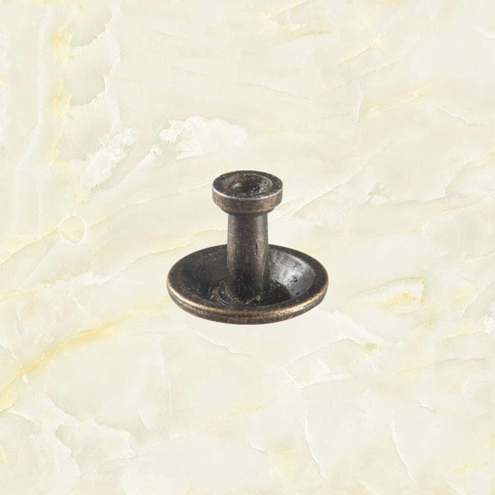 Bouton Antique Pour Armoire /À Tiroir Armoire Armoire Porte -/Alliage De Zinc Bronze Lot De 10 Boutons de Meuble Poign/ées De Tiroir