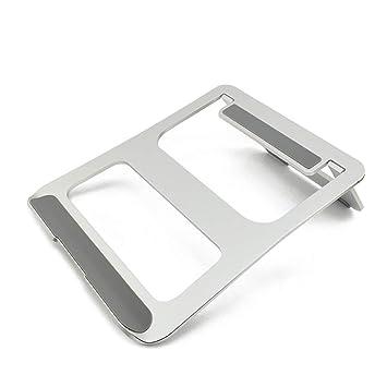 Soporte de Ordenador portátil Plegable, Soporte de refrigeración de aleación de Aluminio portátil/Ajustable, para iPad, Plata: Amazon.es: Informática