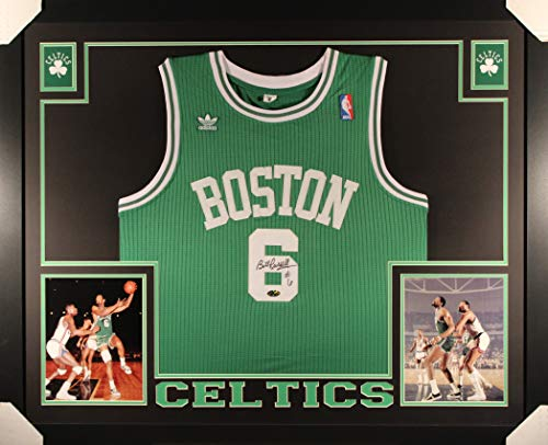 e2e73e7b326e Bill Russell Boston Celtics Memorabilia at Amazon.com. Amazon.com. Bill  Russell Boston Celtics Autograph Signed Custom Framed Jersey Hollywood  Collectibles ...