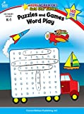 Puzzles and Games: Word Play, Grades K - 1: Gold Star Edition (Home Workbooks)