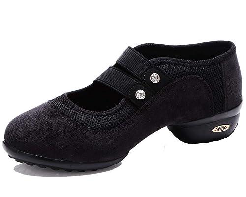 MURSFANDS - Zapatillas de Baile para Mujer, cómodas, de ...