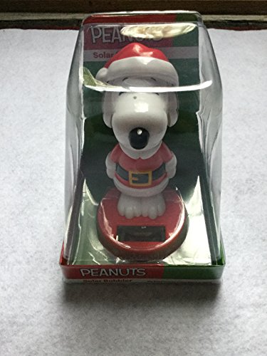 Snoopy Solar Character, Snoopy Bobble Head Solar Dancer