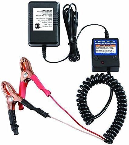 Amazon.com: 12 V flotador Trickle cargador de batería ...