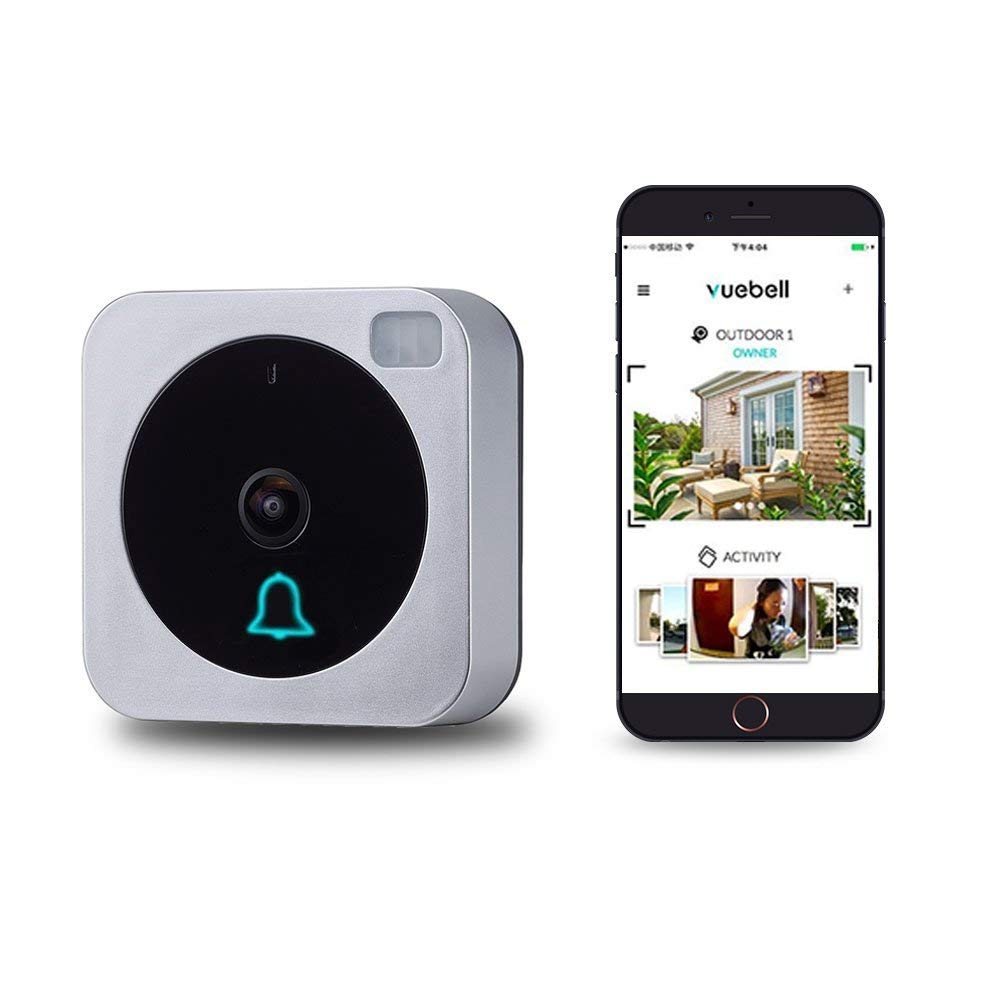 Video Doorbell, NETVUE Wireless Doorbell Camera with Two-Way Talk, IR Motion Detection, Night Vision, Compatible with Alexa Echo Show, Wifi Camera Doorbell with Cloud Storage [Upgrade Version]