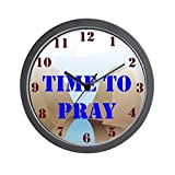 CafePress – Time to Pray Clock – Unique Decorative 10″ Wall Clock Review
