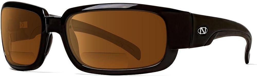 2.50 Bifocal Sunglasses NEW Onos Sand Island 130AM250 AMBER Lens Polarized