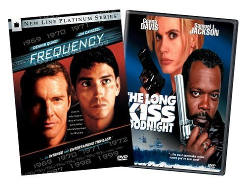 Frequency / The Long Kiss Goodnight (Two-Pack)