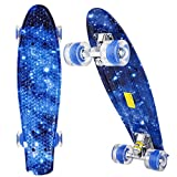 ANCHEER Skateboard - Mini Cruiser Board Complete, 22
