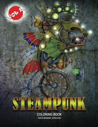 Steampunk Vol 2.: Adult Coloring Book (Volume 2) 3