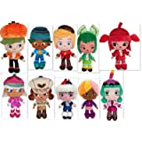 Disney Wreck-It Ralph Set of 10 Scented Sugar Rush Racer 9 Inch Plush