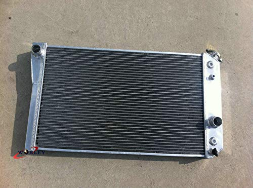 S10 Conversion - 3 Row Aluminum Radiator For Chevy Corvette 5.7 L83/S10 V8 Conversions 1984-1990
