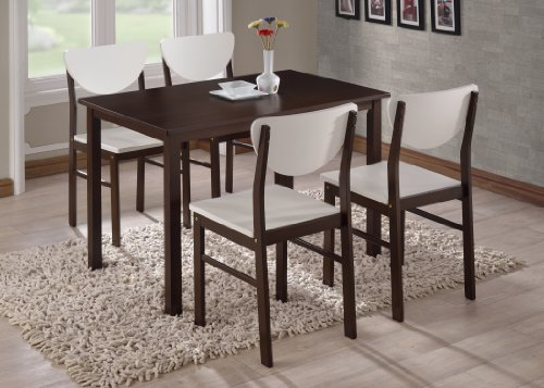 Kings Brand Furniture Wood Dining Room Kitchen Table Walnut Renovation Store