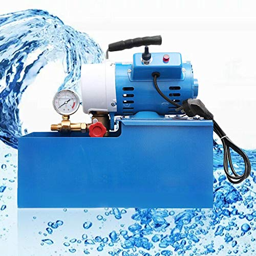 DY19BRIGHT New Electric Pressure Test Pump, Electric Pressure Hydraulic Piston Test Pump Testing 110V Free Shipping