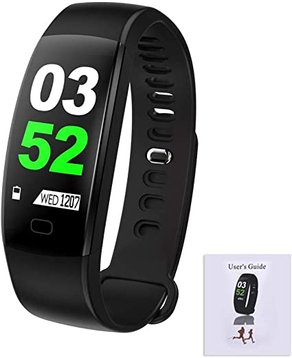 F64HR Bluetooth Pulsera Inteligente IP68 Monitor de Actividad de ...