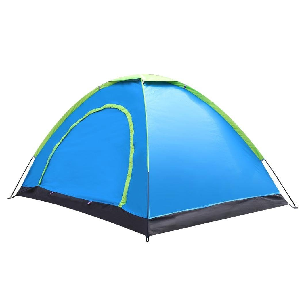 Lantusi 2 Person Pop-up Tent Automatic Instant Setup Waterproof Portable Outdoor Camping Tent