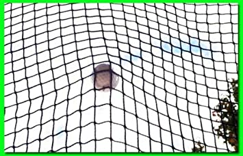 Golf Net 9 x 20 Golf Hitting Net, Commercial Grade with Borders and Grommets. High Velocity Hang and Hit Golf Ball Impact Panel, Made for Real Golf Balls Golf Practice Net Panel By Dura-Pro