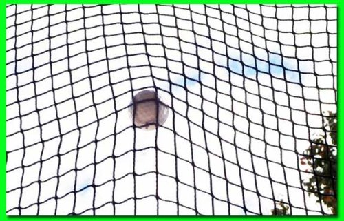 Golf Net 9' x 15' Golf Hitting Net, Commercial Grade with Borders and Grommets. High Velocity Hang and Hit Golf Ball Impact Panel, Made for Real Golf Balls! Golf Practice Net Panel By Dura-Pro by Dura-Pro High Velocity Net Panels (Image #2)