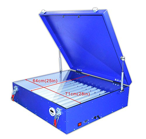 25''28''(6070cm) 110v Screen Printing UV Exposure Unit Screen Plate Making Burning Machine by Screen Printing Equipment