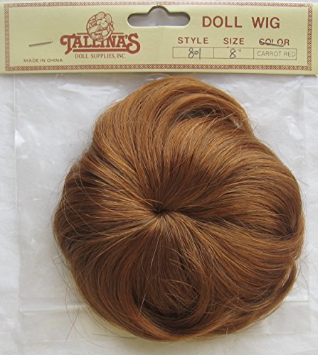 TALLINA'S Craft DOLL Hair WIG Style # 801 Fits SIZE 8