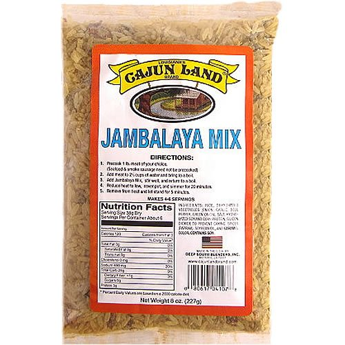 Cajun Land Jambalaya Mix 8 oz (Jambalaya Rice Mix)