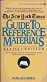 New York Times Guide to Reference Materials, Mona McCormick, 044631188X
