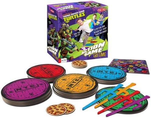 Amazon.com: Teenage Mutant Ninja Turtles Go Tiempo Juego de ...
