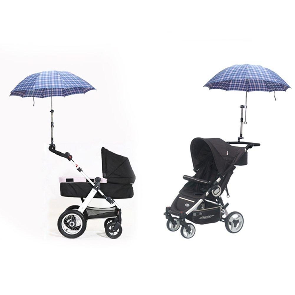 Yosoo Ajustable bebé cochecito bicicleta cochecito silla paraguas Barra soporte montaje Stand paraguas soporte accesorios: Amazon.es: Bebé